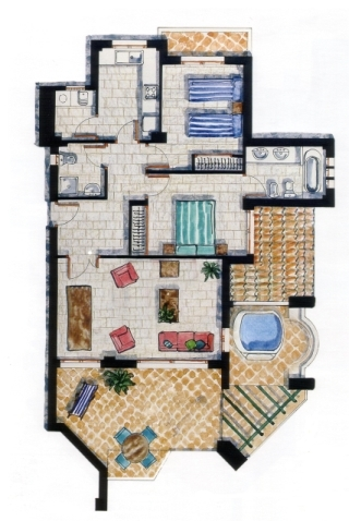 New York City apartment floorplans